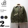 冬のカジュアルスタイルにピッタリなB-3ジャケット♪<br>JOHNBULL(ジョンブル) メンズ B-3 ミリタリーブルゾン 16478 フライトジャケット 送料無料