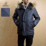 スマートに着こなす大人のミリタリージャケット♪<br>JOHNBULL(ジョンブル) メンズ 16456 ライトオンス デニム ショートフードジャケット 送料無料
