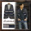 個性的な異素材を使用したジャケット♪<br>JOHNBULL(ジョンブル) メンズ アウター ジャケット テーラード ニット 異素材 15767 送料無料