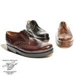 「靴のロールスロイス」シェルコードバンを使用♪<br>Heinrich Dinkelacker(ハインリッヒディンケラッカー) RIO リオ ウィングチップ レザー シューズ ホーウィン シェルコードバン 革靴  送料無料