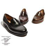「靴のロールスロイス」シェルコードバンを使用♪<br>Heinrich Dinkelacker(ハインリッヒディンケラッカー) ディンケルアッカー WIEN(ウィーン) ローファー ホーウィン シェルコードバン 革靴 送料無料