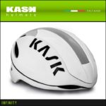 超軽量のアジャストシステム「OCTO FIT」♪<br>KASK(カスク) INFINITY インフィニティー ホワイト ロードバイク ヘルメット 送料無料