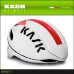 超軽量のアジャストシステム「OCTO FIT」♪<br>KASK(カスク) INFINITY インフィニティー レッド ロードバイク ヘルメット 送料無料