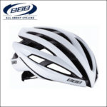 軽量で快適なプロチーム用レースヘルメット♪<br>BBB(ビービービー) イカロス ブラック/ホワイト M (52-58cm) ロードバイク ヘルメット 送料無料
