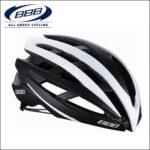 軽量で快適なプロチーム用レースヘルメット♪<br>BBB(ビービービー) イカロス マットブラック/ホワイト M (52-58cm) ロードバイク ヘルメット 送料無料
