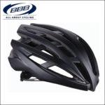 軽量で快適なプロチーム用レースヘルメット♪<br>BBB(ビービービー) イカロス マットブラック M(52-58cm) ロードバイク ヘルメット 送料無料