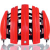 持ち運びに便利な折り畳みヘルメット♪<br>CARRERA(カレラ) Foldable Basic フォルダブルベーシック Helmet Red Iride(312) ヘルメット 送料無料