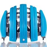 持ち運びに便利な折り畳みヘルメット♪<br>CARRERA(カレラ) Foldable Basic フォルダブルベーシック Helmet Azure(523) ヘルメット 送料無料