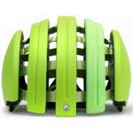 持ち運びに便利な折り畳みヘルメット♪<br>CARRERA(カレラ) Foldable Suede Helmet Green Fluomatte(MC6) ヘルメット 送料無料