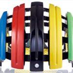 持ち運びに便利な折り畳みヘルメット♪<br>CARRERA(カレラ) GRAND TOUR EDITION E00471 IRIDE FLAG 58-61cm ヘルメット 送料無料