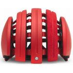 持ち運びに便利な折り畳みヘルメット♪<br>CARRERA(カレラ) Foldable Suede Helmet Red Matte(LW3) ヘルメット 送料無料