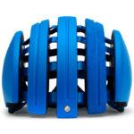 持ち運びに便利な折り畳みヘルメット♪<br>CARRERA(カレラ) Foldable Suede Helmet Blue Matte(LY5)  ヘルメット 送料無料