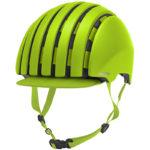 持ち運びに便利な折り畳みヘルメット♪<br>CARRERA(カレラ) Foldable Crit Helmet Matte Lime(4AN) ヘルメット 送料無料