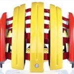 持ち運びに便利な折り畳みヘルメット♪<br>CARRERA(カレラ) GRAND TOUR EDITION E00471 SPANISH FLAG 55-58cm ヘルメット 送料無料