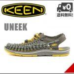 革命的かつユニークなフットウェア♪<br>KEEN(キーン) メンズ スポーツ サンダル ユニーク UNEEK 8MM CAMO FLAT CORD KEEN 1014622 ガーゴイル/カモ 送料無料