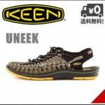 革命的かつユニークなフットウェア♪<br>KEEN(キーン) メンズ スポーツ サンダル フラットコード UNEEK 8MM CAMO FLAT CORD KEEN 1014624 イエロー/カモ 送料無料