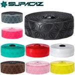 グリップと耐久性に優れたバーテープ♪<br>SUPACAZ(スパカズ) バーテープ スーパースティッキークッシュ シングル