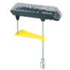 レンチの捻れを利用した簡易式トルクレンチ♪<br>TOPEAK(トピーク) コンボトルクレンチ&ビットセット TOL23500