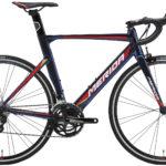 空力性能を追求したアルミフレームモデル♪<br>MERIDA(メリダ) リアクト400 ロードバイク 2018 バーレーン REACTO400 AERO 自転車 シマノ105 送料無料
