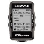 LEZYNEテクノロジーのすべてを搭載大画面GPS内蔵サイクルコンピューター♪<br>LEZYNE(レザイン) SUPER GPS スーパーGPS スピードメーター・サイクルコンピュータ