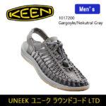 革命的かつユニークなフットウェア♪<br>KEEN(キーン) オープンエアースニーカー UNEEK ユニーク 1017200 メンズ Gargoyle/Nekutral Gray 送料無料