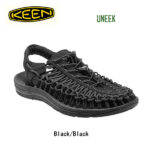 革命的かつユニークなフットウェア♪<br>KEEN(キーン) サンダル UNEEK Black Black 1014097 メンズ 送料無料