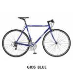 ツーリング、街乗りなどステージを選ばないお洒落なデザイン♪<br>GIOS(ジオス) ジオス アンピーオ 2018 GIOS AMPIO クロモリ クロスバイク スポーツ自転車 送料無料
